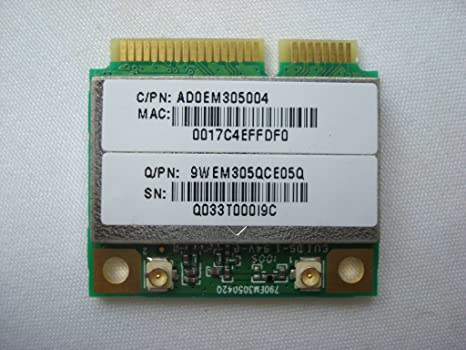 atheros ar9825 wireless network adapter