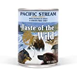 Taste of the Wild High Protein Real Meat Grain-Free Recipes Wet Canned Dog Food, Made With Superfoods and Other Premium…