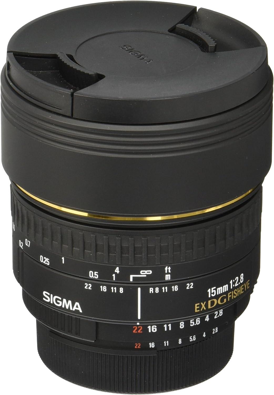 Sigma 15 Mm F2 8 Ex Dg Diagonal Fisheye Objektiv Für Kamera