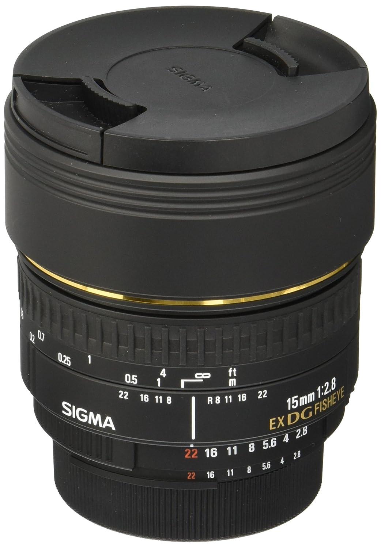 Sigma mm f  diagonal fisheye DG EX NAF Objetivo para Nikon