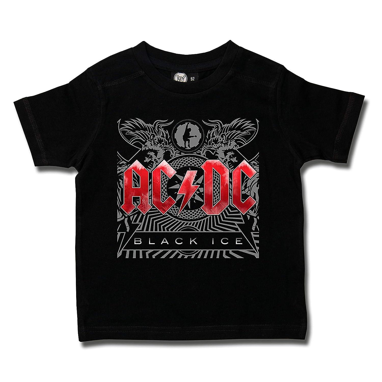 AC/DC (Black Ice): Kids T-Shirt, schwarz Metal-Kids 430-25-8