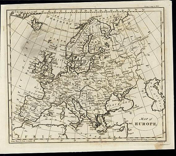 Map Of England And Spain.Europe Spain France Scandinavia Germany Italy Poland England