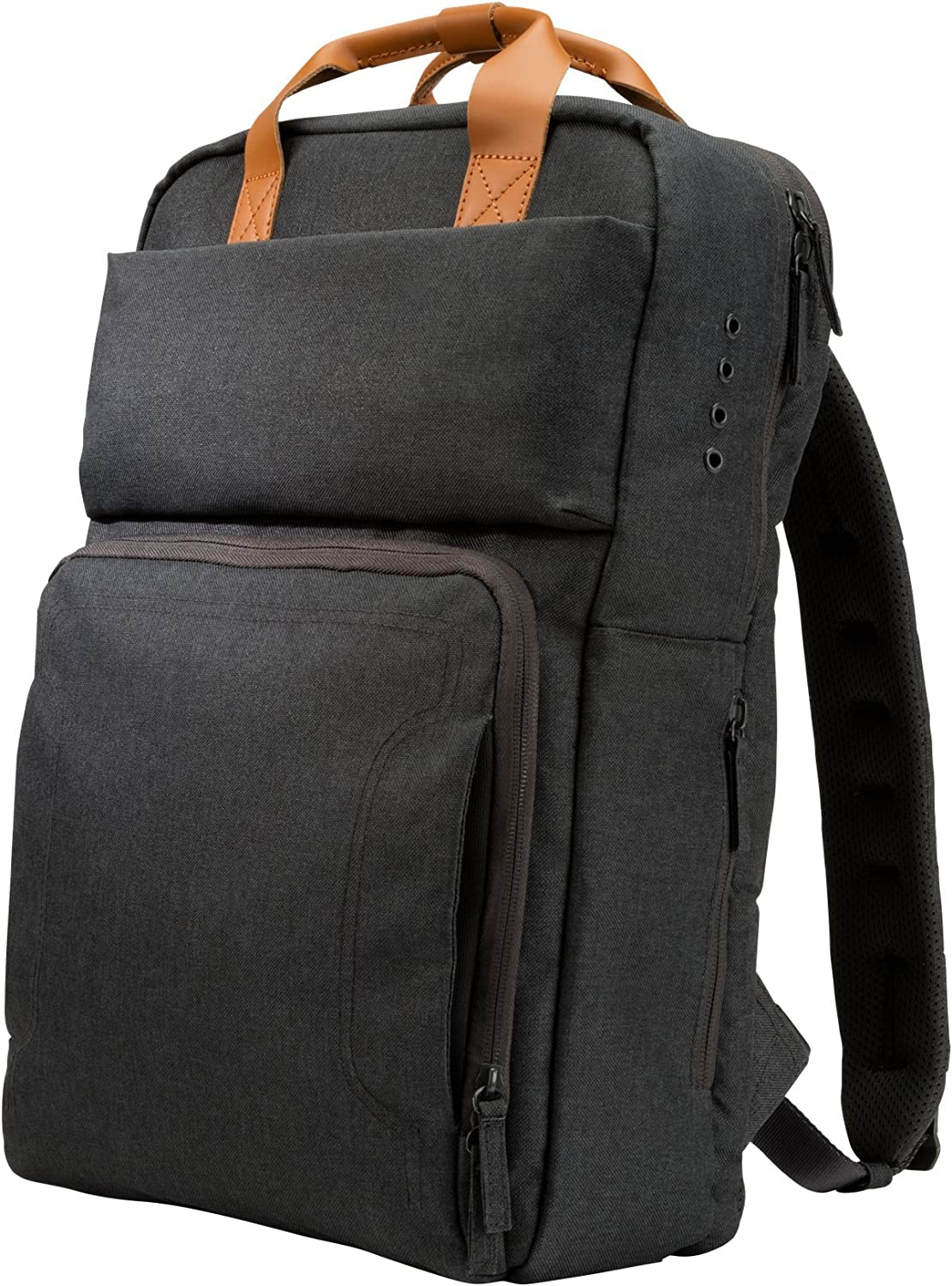 "HP PowerUP - Notebook Carrying Backpack - 17.3"" - Brown, Gray"