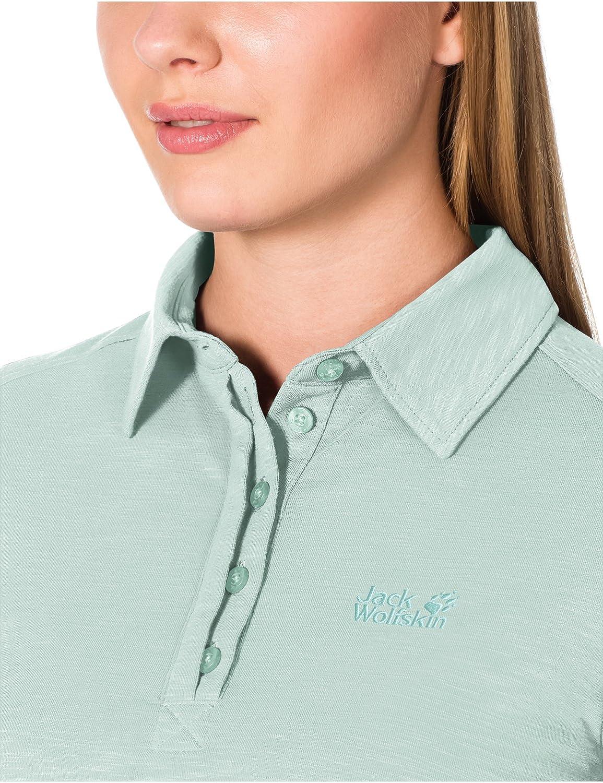 Jack Wolfskin Damen Shirt Travel Polo 2 W