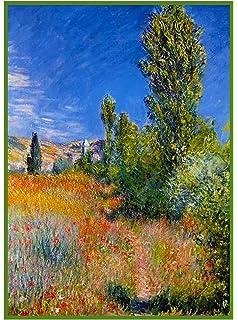 Orenco Originals Path Through Pourville Corn Monet Counted Cross Stitch Pattern