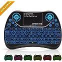 Ambolove Backlit Wireless Mini Keyboard