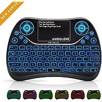 Ambolove Backlit Wireless Mini Keyboard (Blacklit)