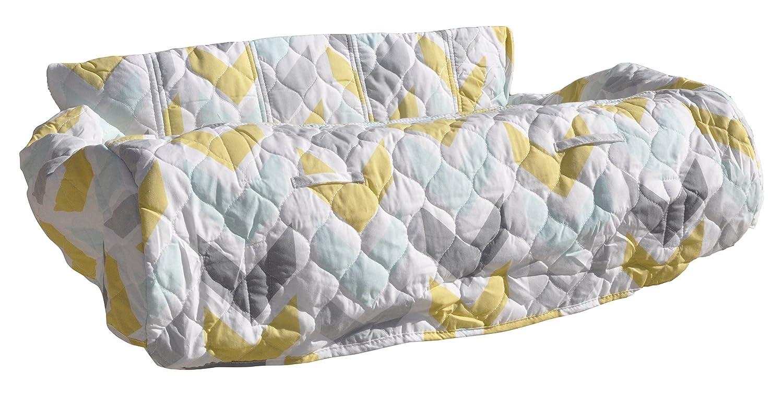 Pam Grace Creations Shopping Cart/High Chair Cover, Gold/White GC-KANGAROO