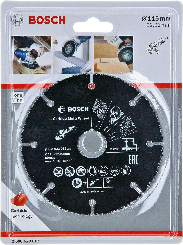Bosch Professional Carbide Multi Wheel Trennscheibe Multi Material Ø 115 Mm Zubehör Winkelschleifer Baumarkt