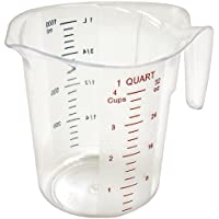 Deals on Winco FBA_ Measuring Cup Polycarbonate 1-Quart