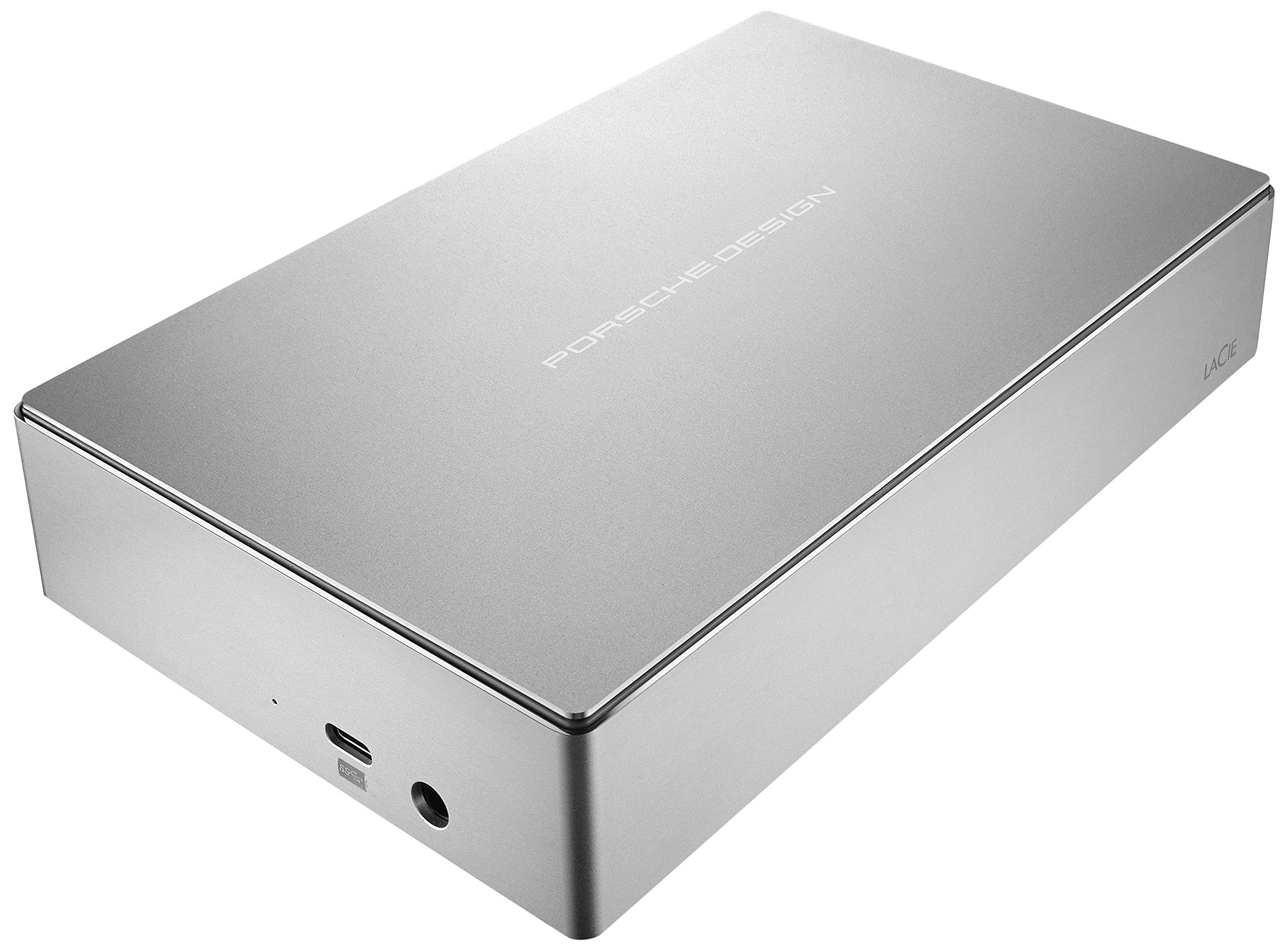 LaCie Porsche Design 6TB USB-C Desktop Hard Drive + 2mo Adobe CC Photography (STFE6000401)