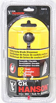 CH Hanson 03012 100-Piece Utility Knife Blade Dispenser - Utility Knives - Amazon.com