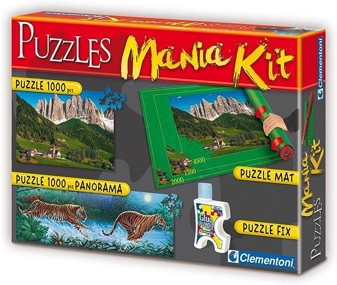 Clementoni 39074 - Puzzle Mania Juego: Amazon.es: Juguetes y juegos