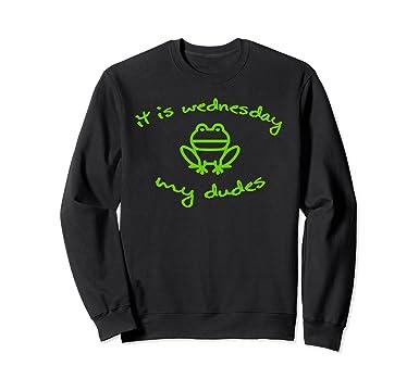 Amazoncom Funny Meme Sweatshirt Day Of The Week Tee Clothing