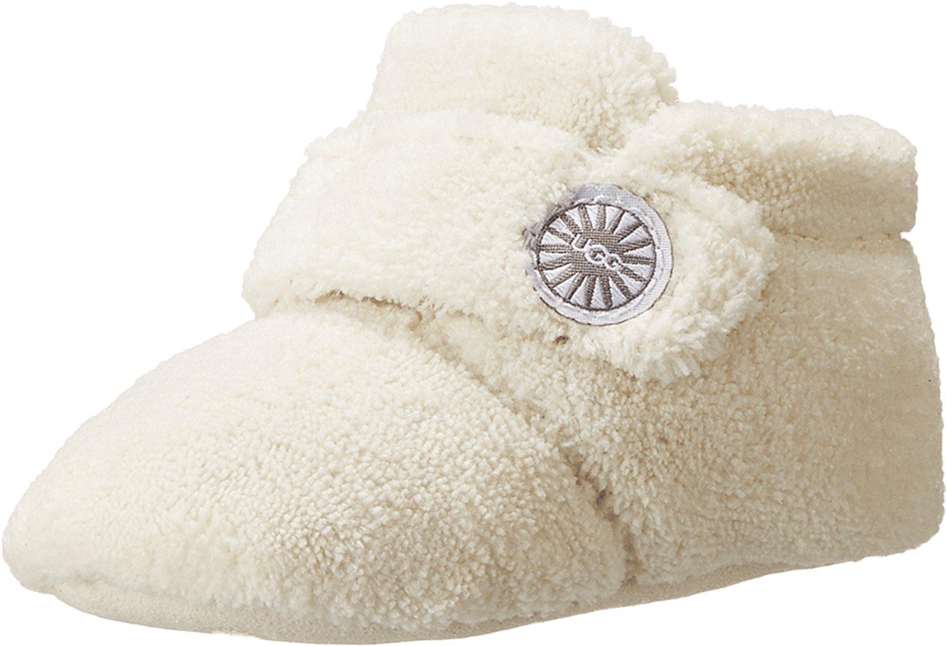 UGG Unisex Bixbee Bootie (Infant/Toddler), Vanilla, 2/3 (6-12 Months) M