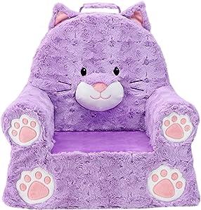 Soft Landing | Sweet Seats | Premium Cat Children's Plush Chair