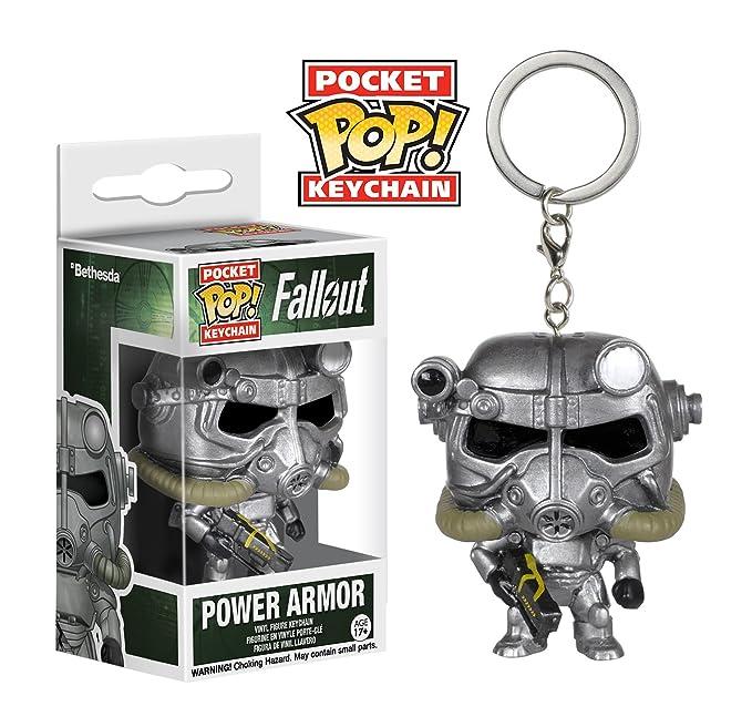 Funko POP Keychain: Fallout - Power Armor Figure