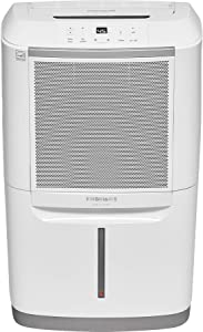 FRIGIDAIRE 70-Pint Dehumidifier with WiFI Controls and Rolling Caster Wheels, White (Renewed)
