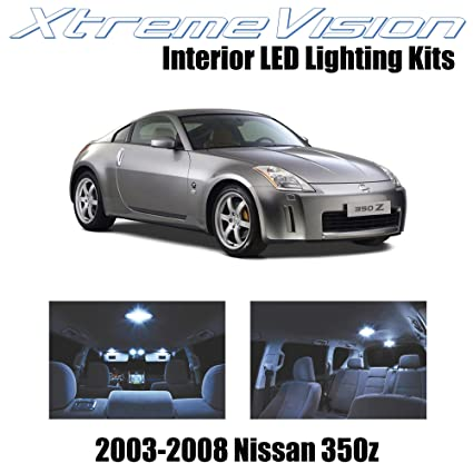 Amazon Xtremevision Nissan 350z 2003 2008 5 Pieces Cool White