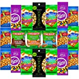 Healthy Snacks Care Package Grab And Go Variety Nuts Pack (20 Count) Include Wonderful Pistachios, Emerald Nuts, Almonds, Planters Peanuts & MORE !!