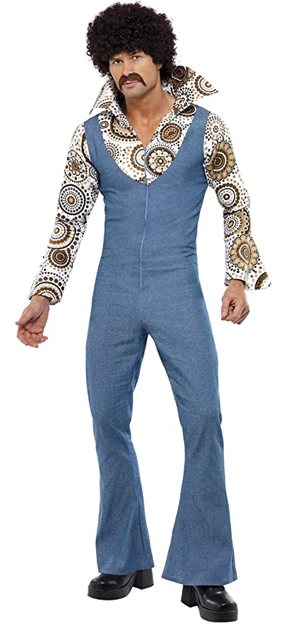 1960s Mens Suits | 70s Mens Disco Suits Smiffys Groovy Dancer Costume £31.82 AT vintagedancer.com