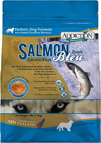 Addiction Grain Free Dry Dog Food Formulas Salmon