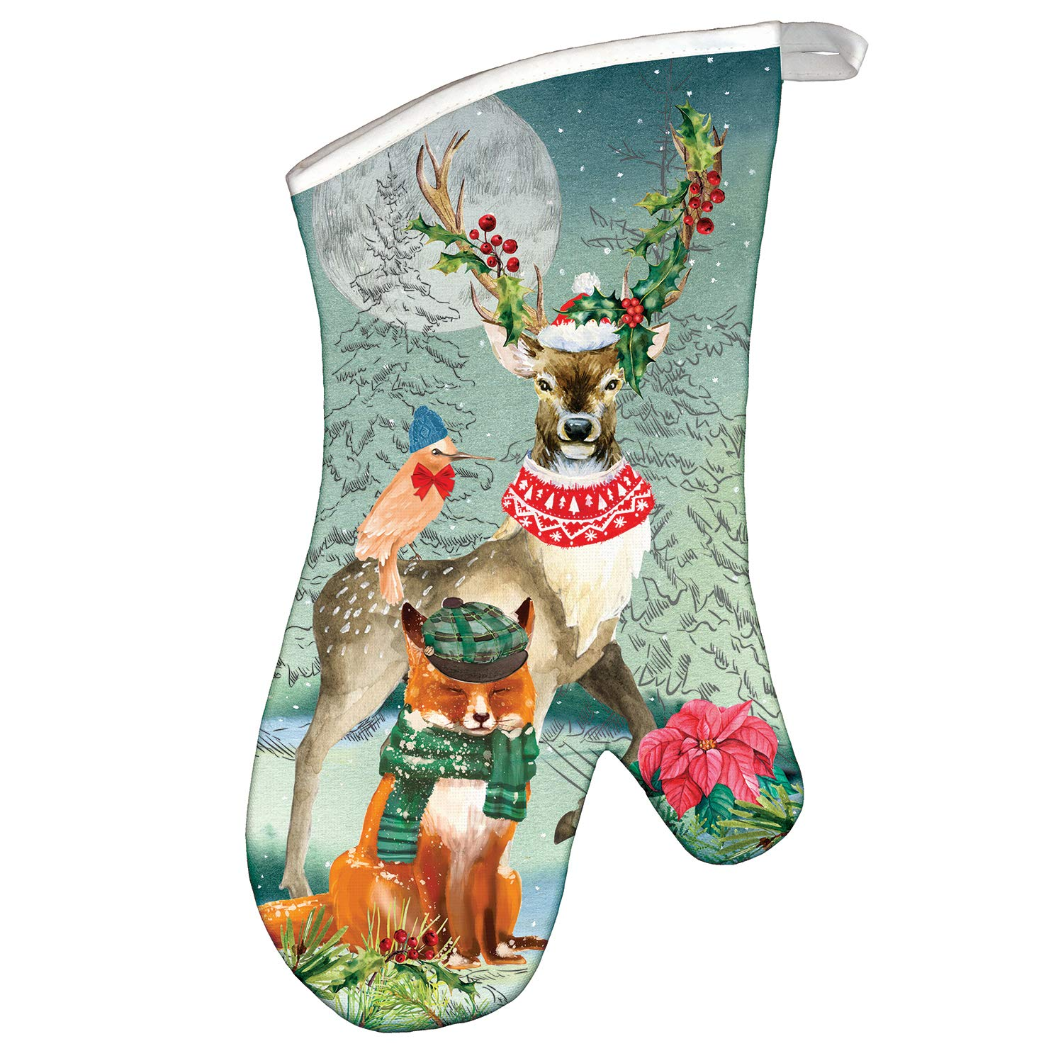 Michel Design Works Oven Mitt, Christmas Party