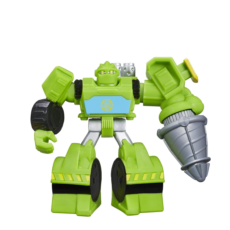 genuina alta calidad Playskool Heroes Transformers Transformers Transformers Rescue Bots Boulder the Construction-Bot Figure by Playskool  tomar hasta un 70% de descuento