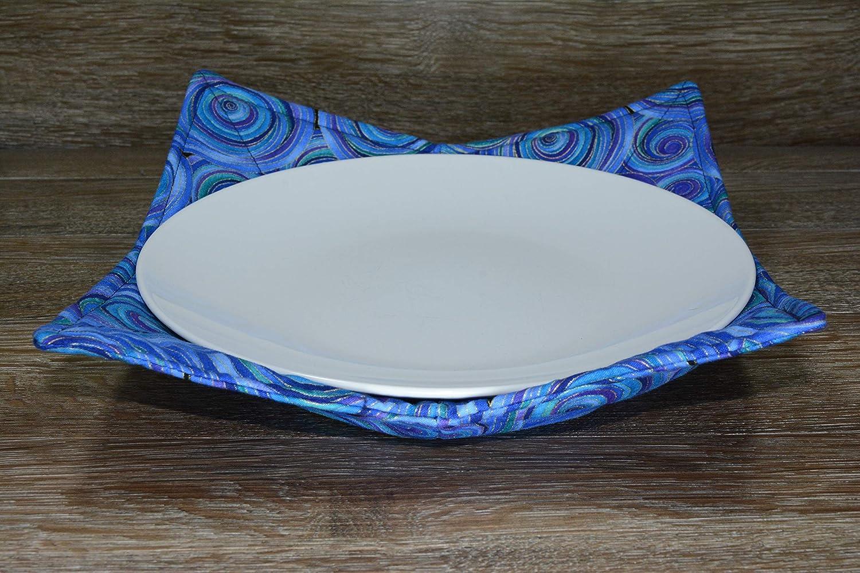 Microwave Cozy //// Dinner Plate Cozy //// Cosmic Swirls