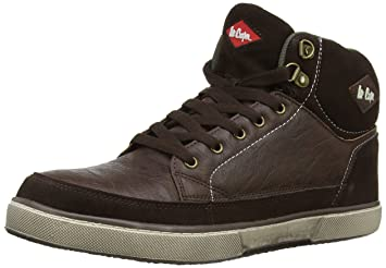 0215cd1e653a Lee Cooper Workwear Men s 086 S1P Safety Boots Brown (Brown) 7 UK ...