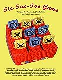 Tic-Tac-Toe Game: Plastic Canvas Pattern