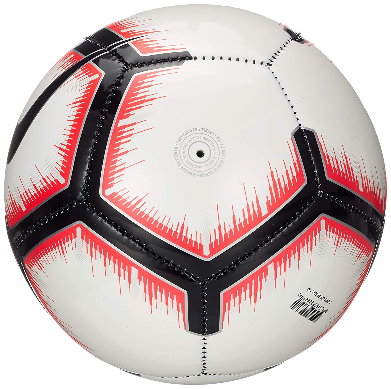 Nike Liga Nos Skills - Balón de fútbol, White/Bright Crimson/Black ...