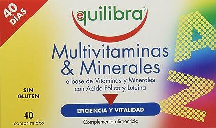 Equilibra Multivitaminas y Minerales - 48 gr