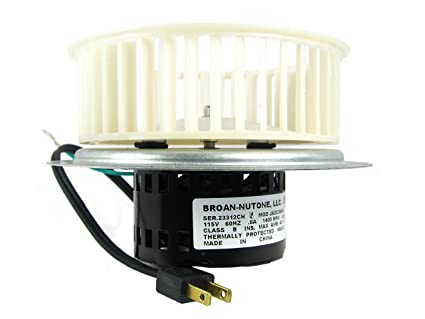 nutone 0696b000 motor assembly for qt100 and qt110 series fans rh amazon ca