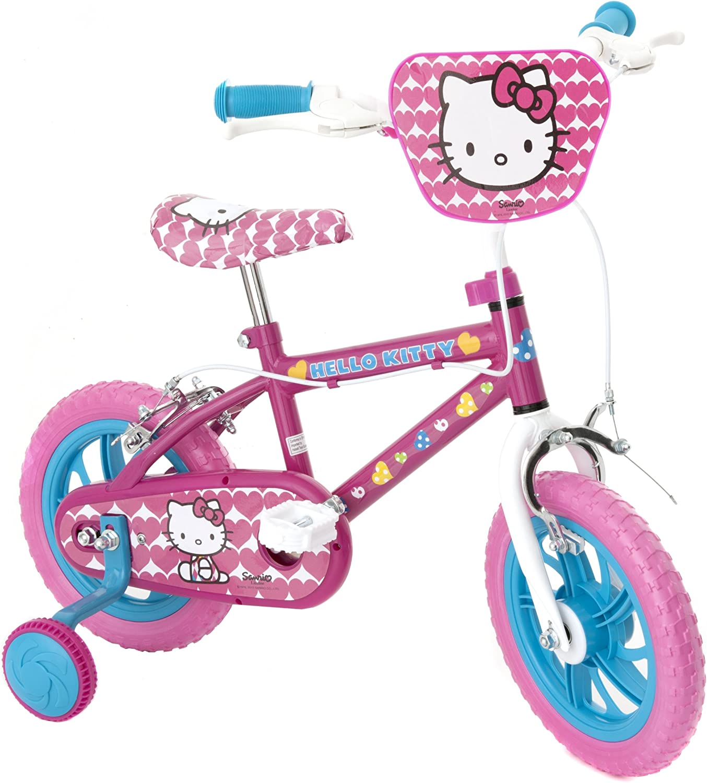 Hello Kitty GirlS Bike - Bicicleta para niña, tamaño 12, Color ...