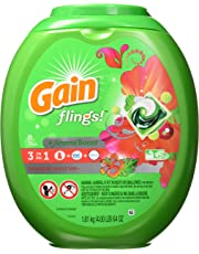 Gain Flings! Laundry Detergent Pacs, Tropical Sunrise, 81 Count