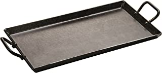 product image for Lodge Carbon Steel Griddle, Pre-Seasoned, 18-inch , Black