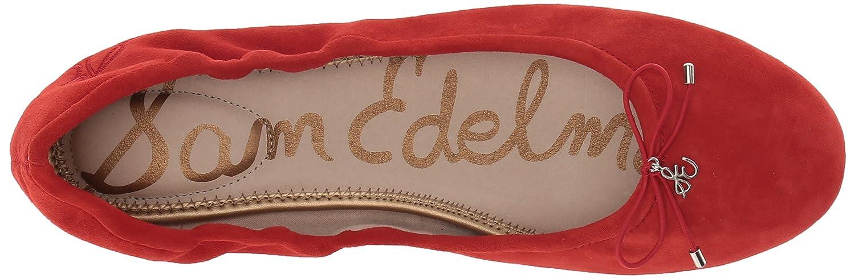 Sam Edelman B(M) Women's Felicia Ballet Flat B072R7P6RW 6.5 B(M) Edelman US|Candy Red Suede 7d9274