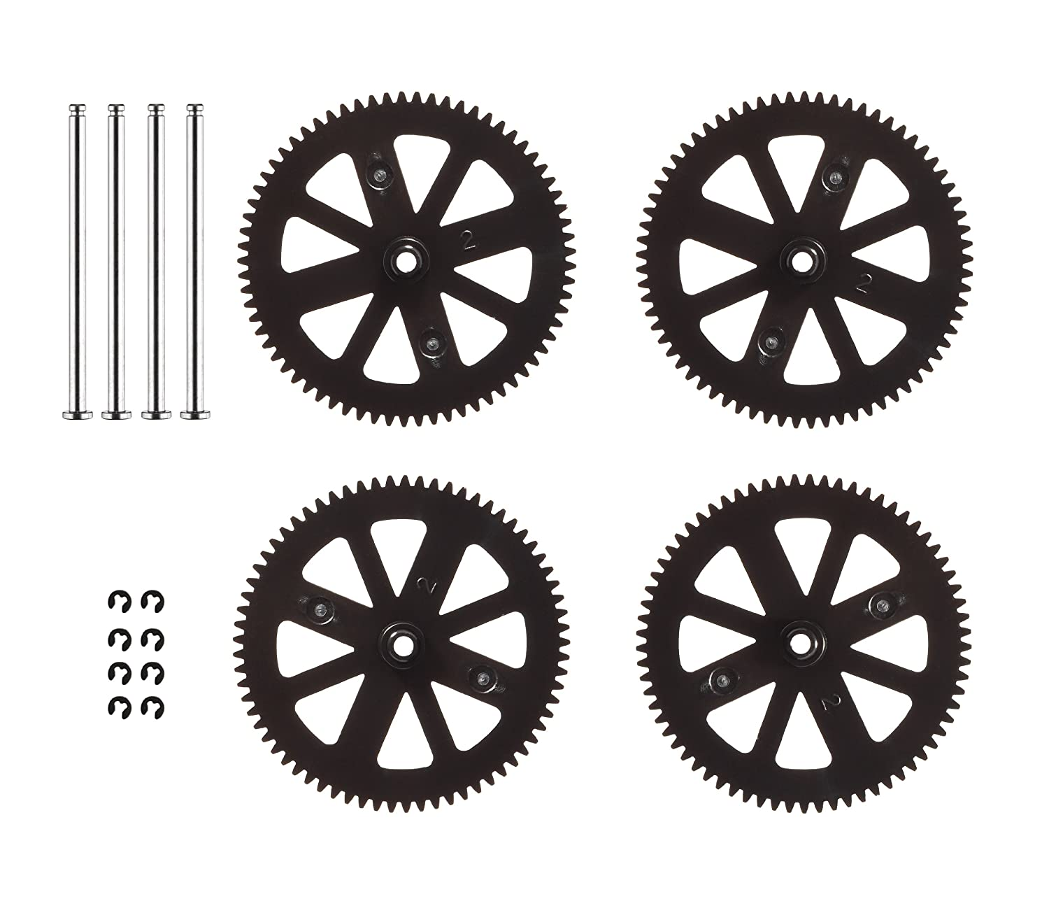 Parrot AR Drone 2.0 Gears & Shafts - Set of 4 Parrot Inc. PF070047AA