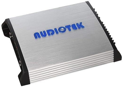 Audiotek at804s 4 canales clase AB 2 Ohm Estable 1000 W coche amplificador de potencia estéreo