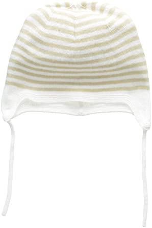 United Colors of Benetton Cap, Gorra Bebé niños, Beige, 3-6 Meses