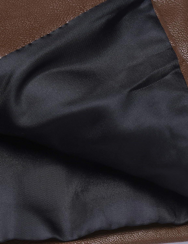 COOFANDY Mens Leather Vest Casual Western Vest Jacket Lightweight V-Neck Suit Vest Waistcoat