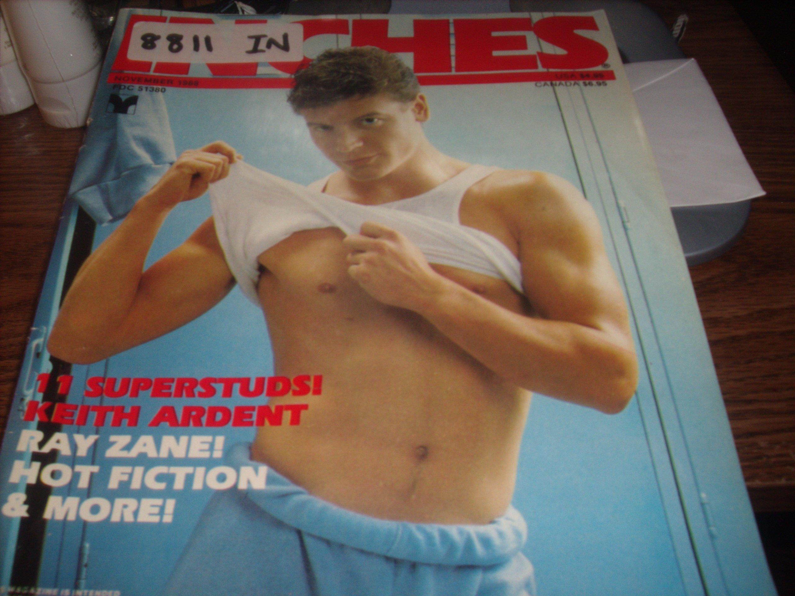 Inches Adult Men's Gay Magazine November 1988 Doug Niles Unbound – 1988