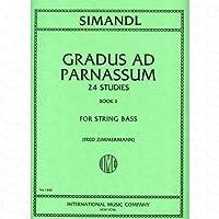 24 ETUEDEN 2 (GRADUS AD PARNASSUM) - arrangiert für Kontrabass [Noten/Sheetmusic] Komponist : SIMANDL FRANZ