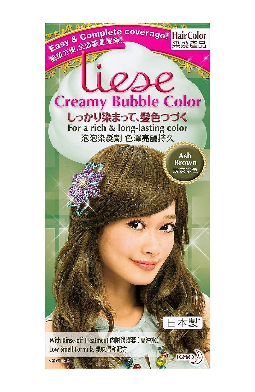 Kao Liese Soft Bubble Hair Color Ash Brown Amazon Health