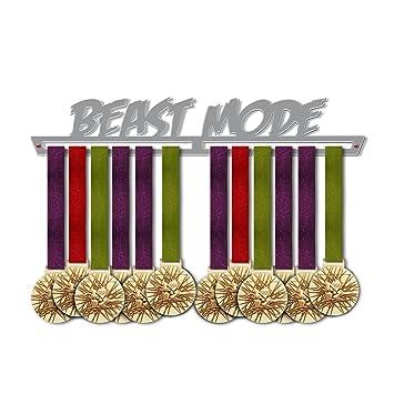 J/&X Medaillenhalter L/äufer Medaillenhalter Troph/äenhalter Medaillenst/änder Medaille anzeigen Metallklammer Medal Rack Weiter Laufen