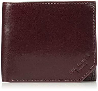 d5dba1b222bc Image Unavailable. Image not available for. Color  Ted Baker Men s Spidey  Leather Wallet