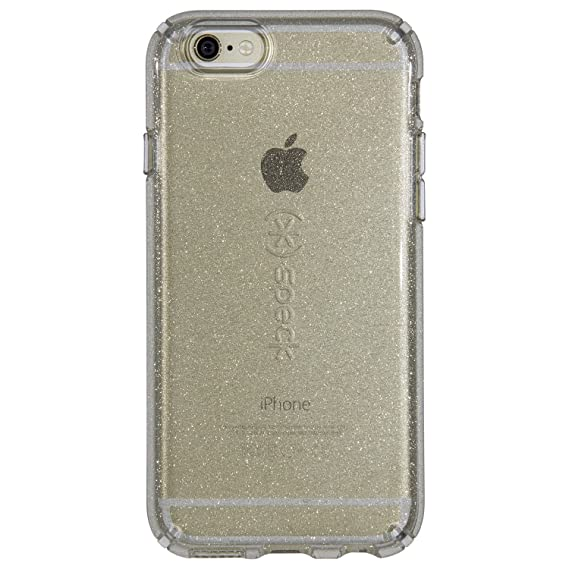 sale retailer ec1ae 17114 Speck Products 73685-5636 CandyShell Clear Case for iPhone 6S Plus/iPhone 6  Plus, Gold Glitter/Clear