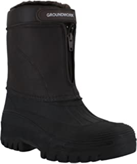 Groundwork LS88 Womens Mucker Stable Yard Winter Snow Zip up Boots Wellies