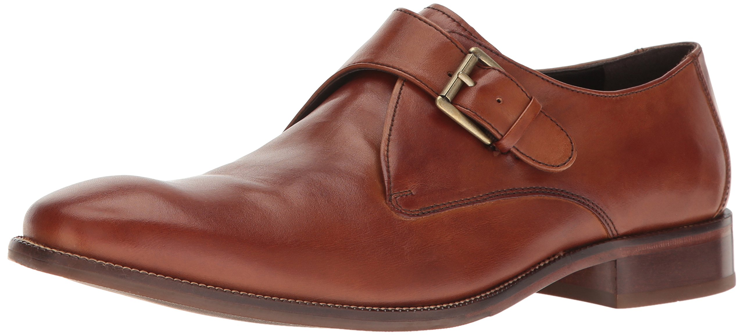 Cole Haan Men's Williams II Monk-Strap Loafer, British tan, 10.5 Medium US